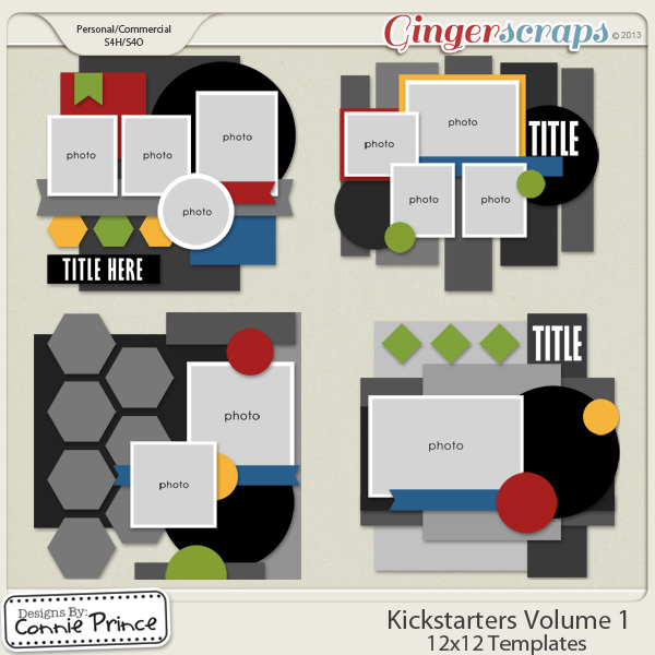 Kick Starters Volume 1 - 12x12 Temps (CU Ok)