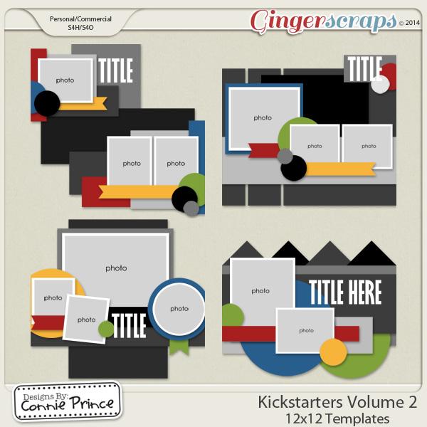 Kick Starters Volume 2 - 12x12 Temps (CU Ok)
