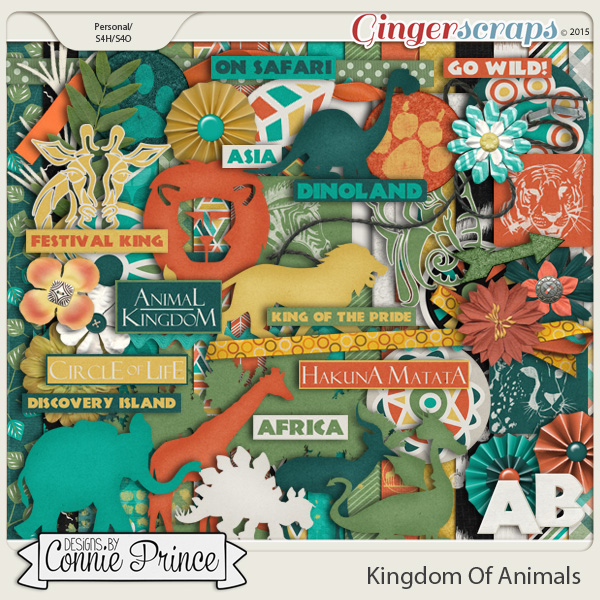 Kingdom Of Animals - Kit
