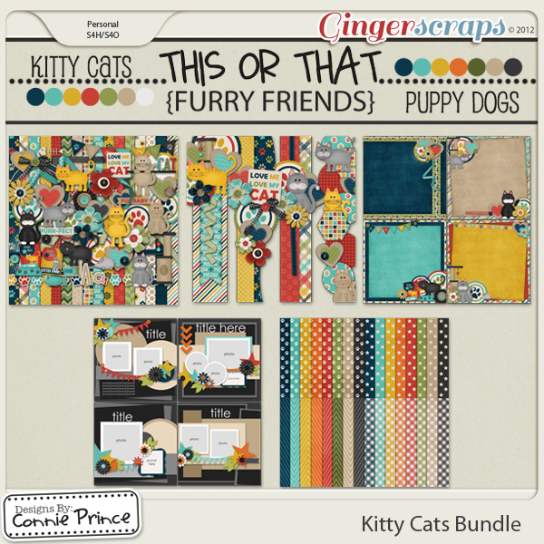 Kitty Cats - Bundle