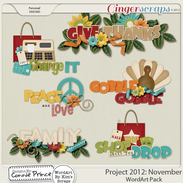 Retiring Soon - Project 2012: November - WordArt
