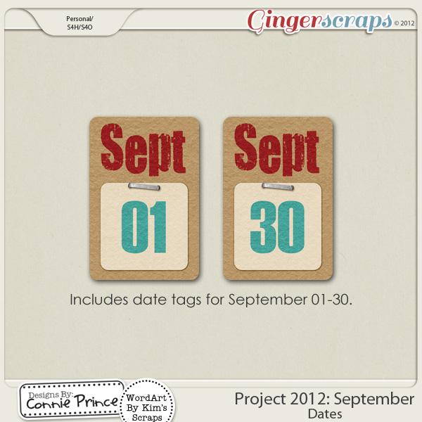 Retiring Soon - Project 2012:   September - Dates