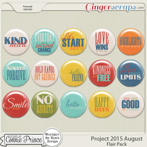Project 2015 August - Flair Pack