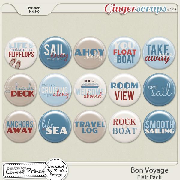Bon Voyage - Flair Pack