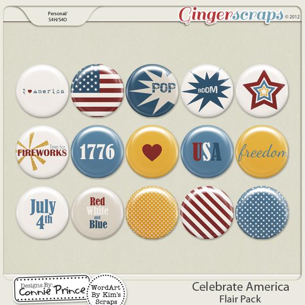 Retiring Soon - Celebrate America - Flair Pack