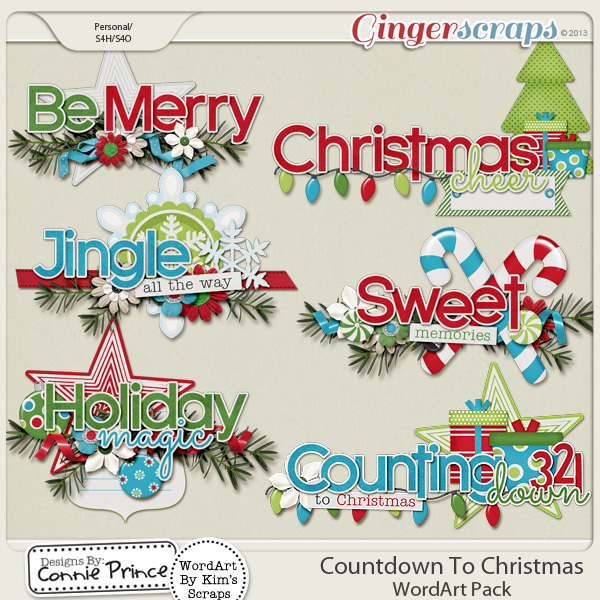 Retiring Soon - Countdown To Christmas - Word Art