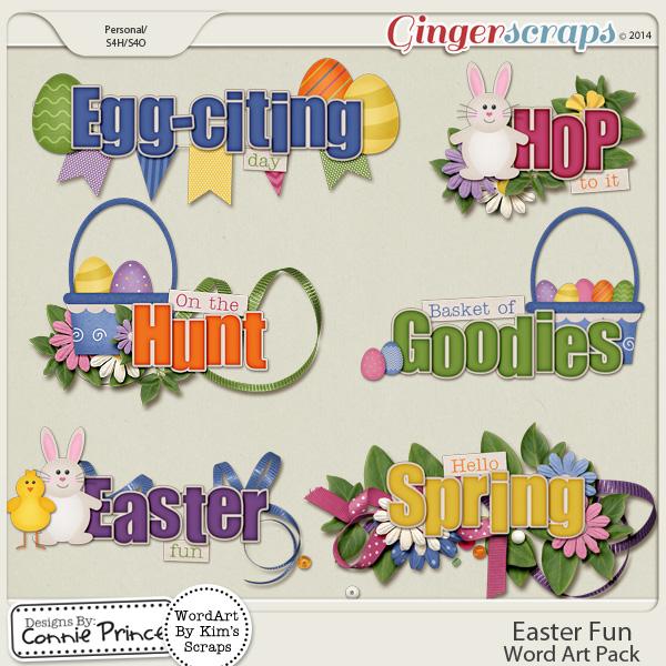 Retiring Soon - Easter Fun - Word Art