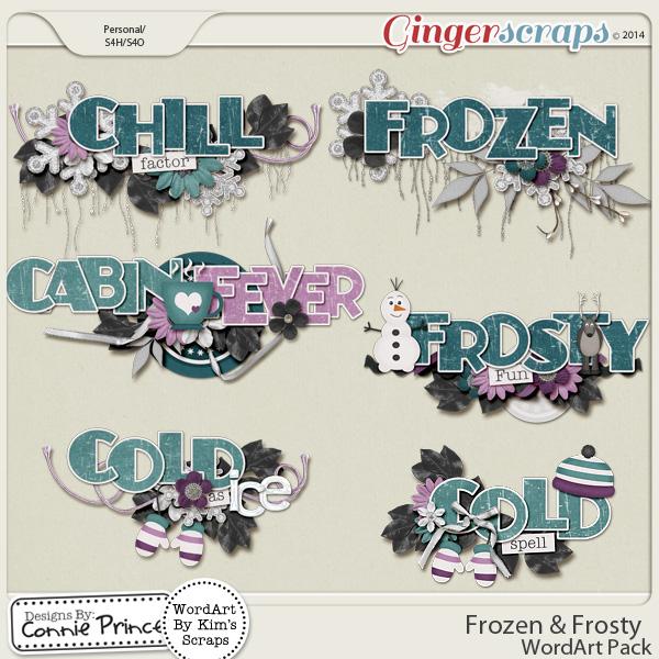 Retiring Soon - Frozen & Frosty - WordArt
