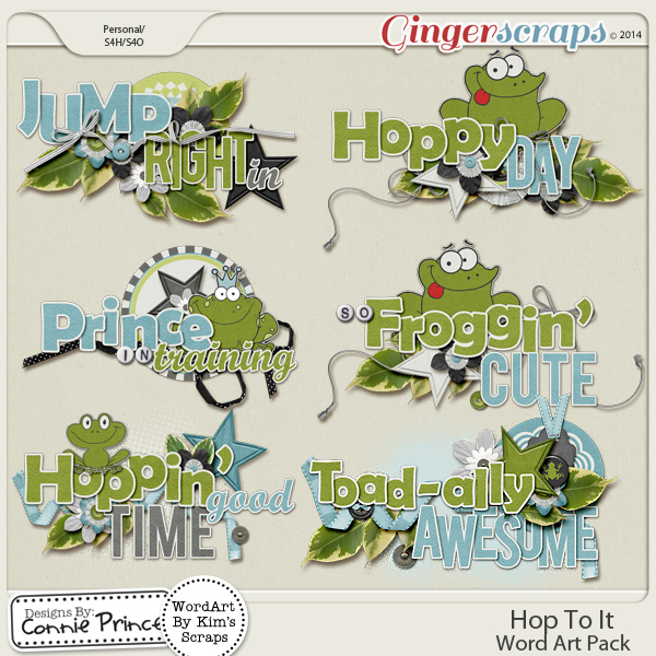 Hop To It - WordArt