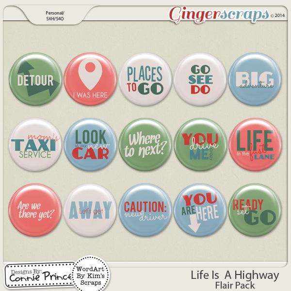 Life Is A Highway - Flair Pack