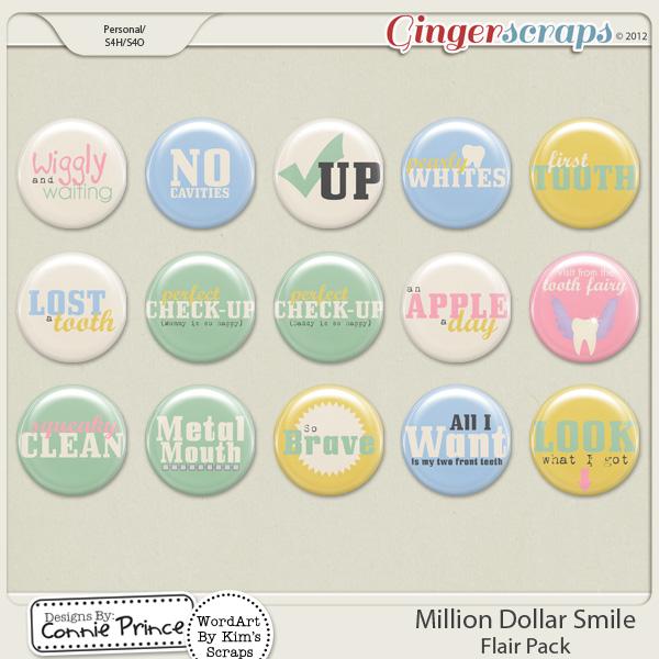 Retiring Soon - Million Dollar Smile - Flair Pack