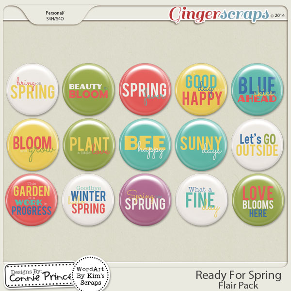 Ready For Spring - Flair Pack