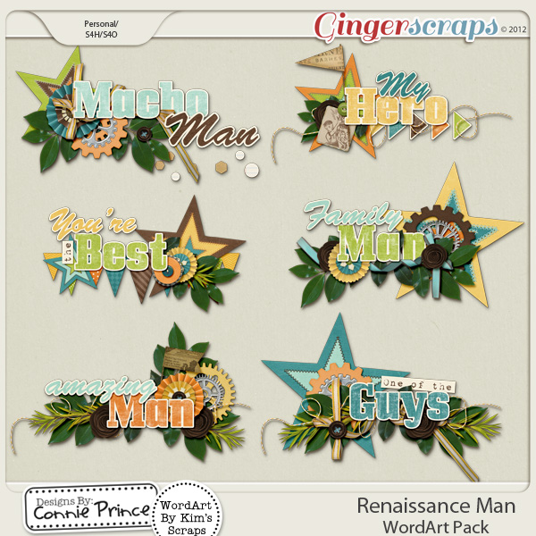 Renaissance Man - WordArt