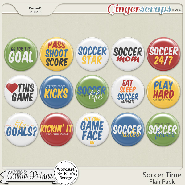 Soccer Time - Flair Pack