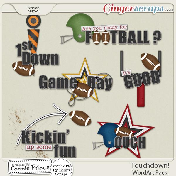 Touchdown! - WordArt
