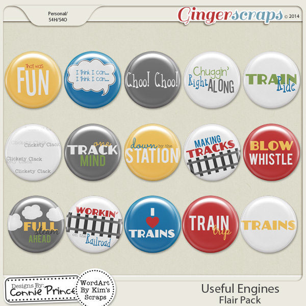 Useful Engines - Flair Pack