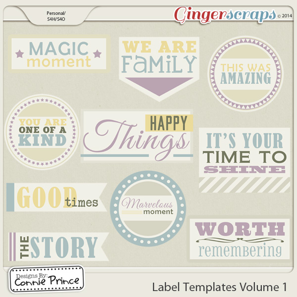 Retiring Soon - Label Templates Volume 1 (CU Ok)