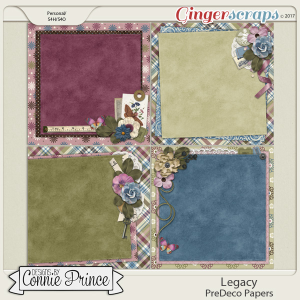 Legacy - PreDeco Papers