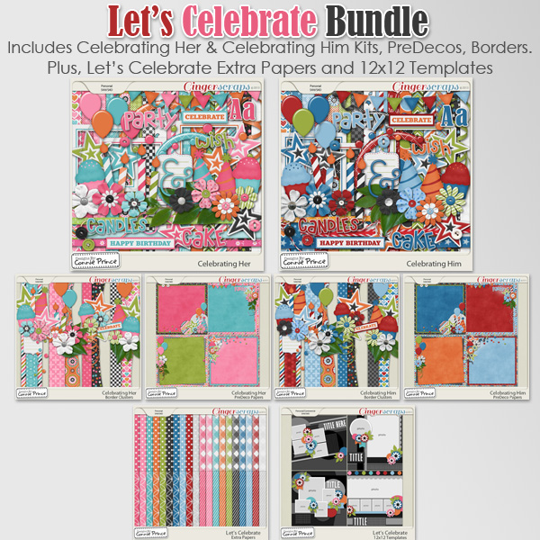 Let's Celebrate - Bundle