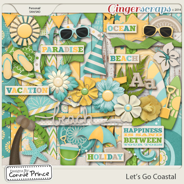 Let's Go Coastal - Kit