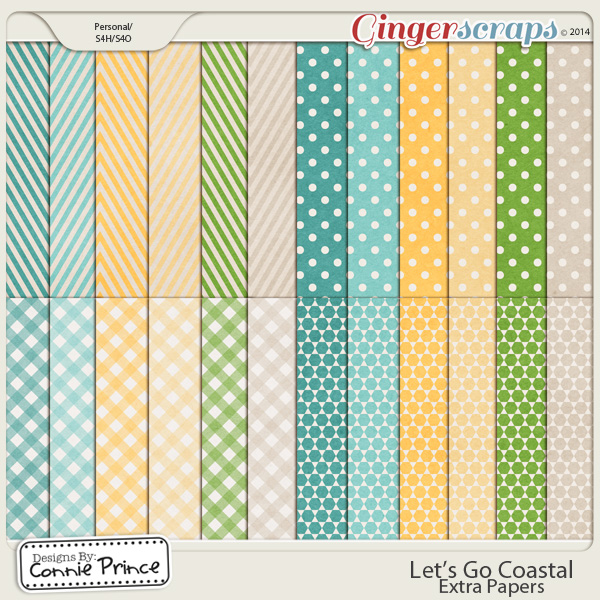 Let's Go Coastal - Extra Papers