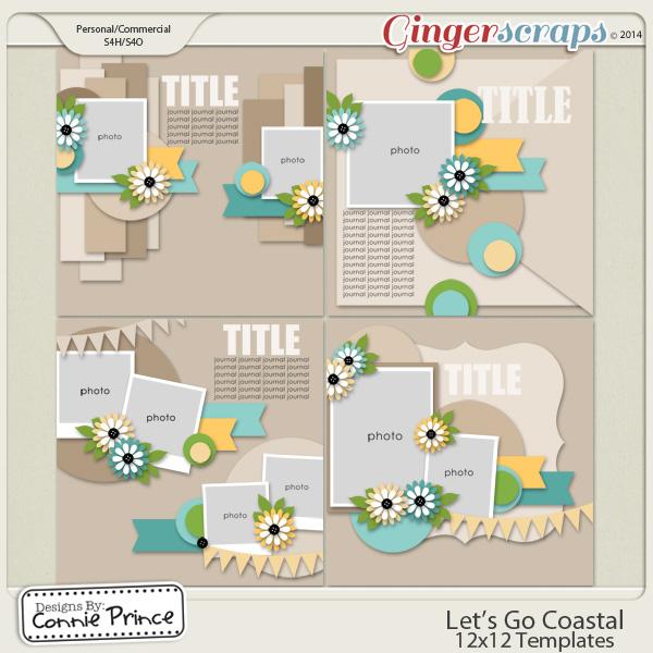 Let's Go Coastal  - 12x12 Temps (CU Ok)