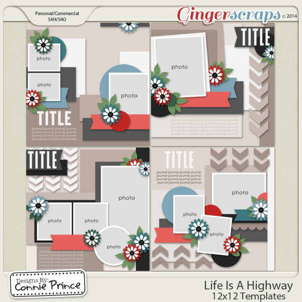 Life Is A Highway - 12x12 Temps (CU Ok)