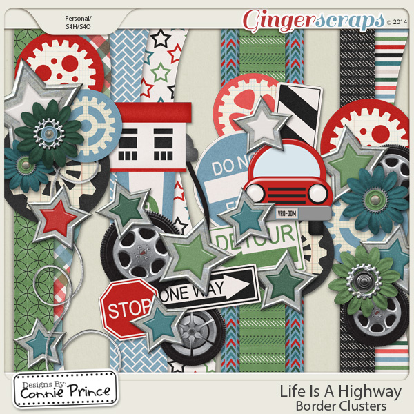 Life Is A Highway - Border Clusters