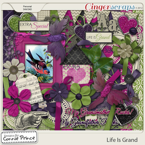 Life Is Grand - 12x12 Temps (CU Ok)