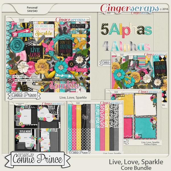 Live, Love, Sparkle - Core Bundle