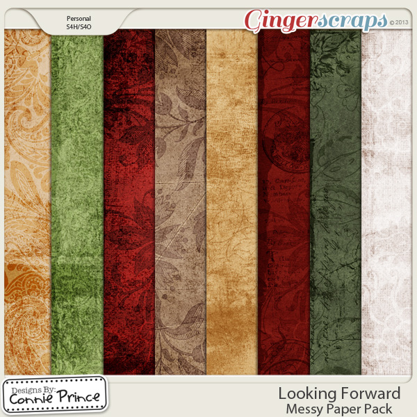 Looking Forward - Messy Paper Pack