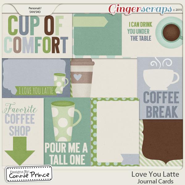 Retiring Soon - Love You Latte - Journal Cards