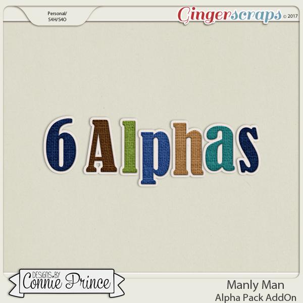 Manly Man- Alpha Pack AddOn