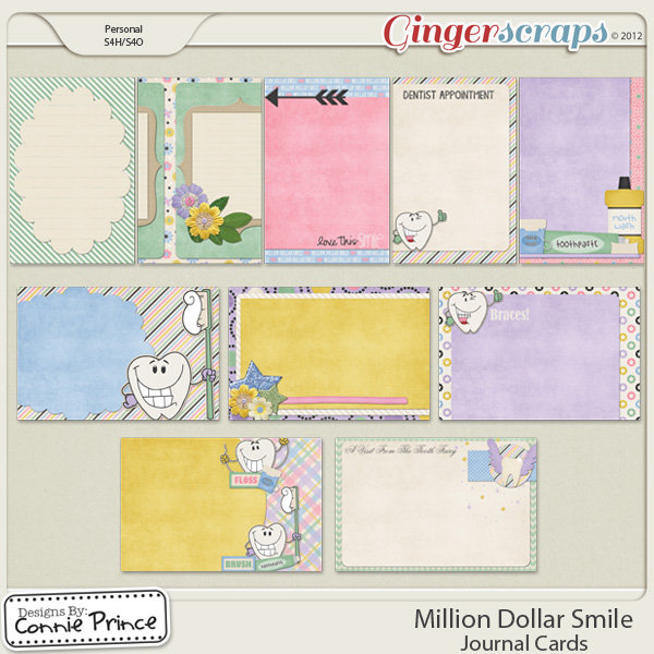 Retiring Soon - Million Dollar Smile - Journal Cards