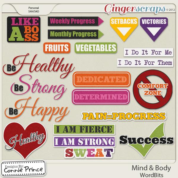 Mind & Body -  WordBits