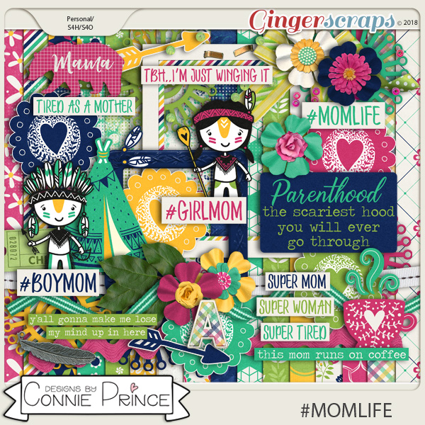 #MOMLIFE - Kit by Connie Prince