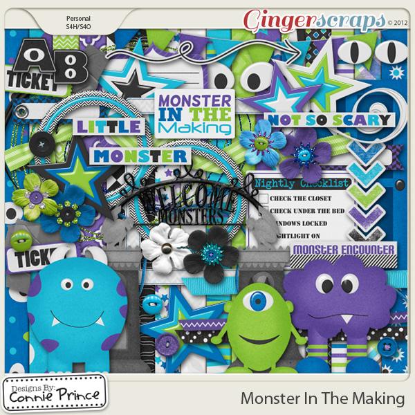 Retiring Soon - Monster In The Making - Kit