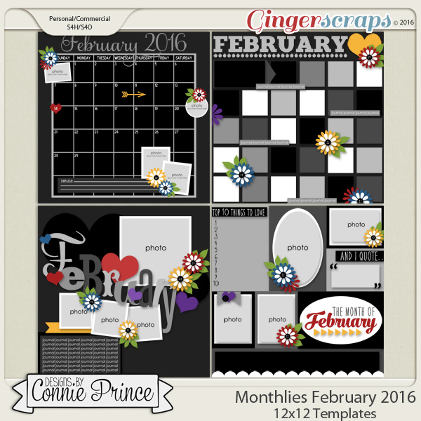 Monthlies February - 12x12 Temps (CU Ok)