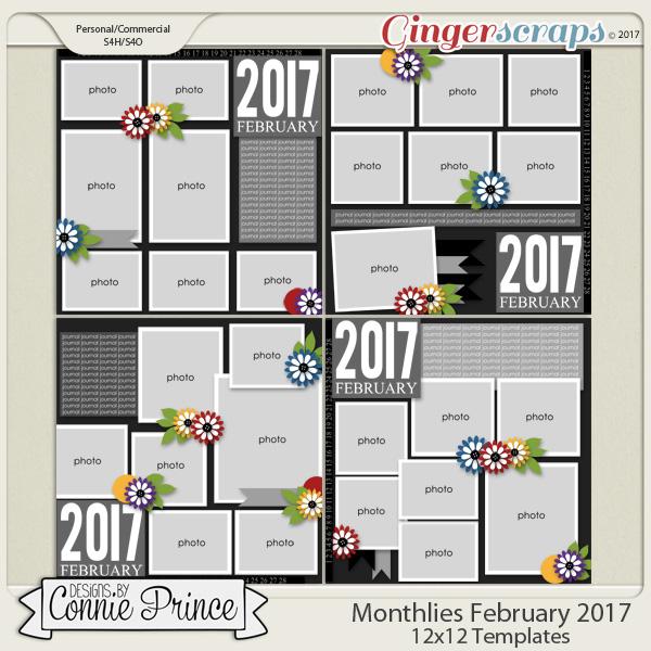 Monthlies February 2017 - 12x12 Temps (CU Ok)