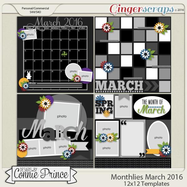 Monthlies March - 12x12 Temps (CU Ok)