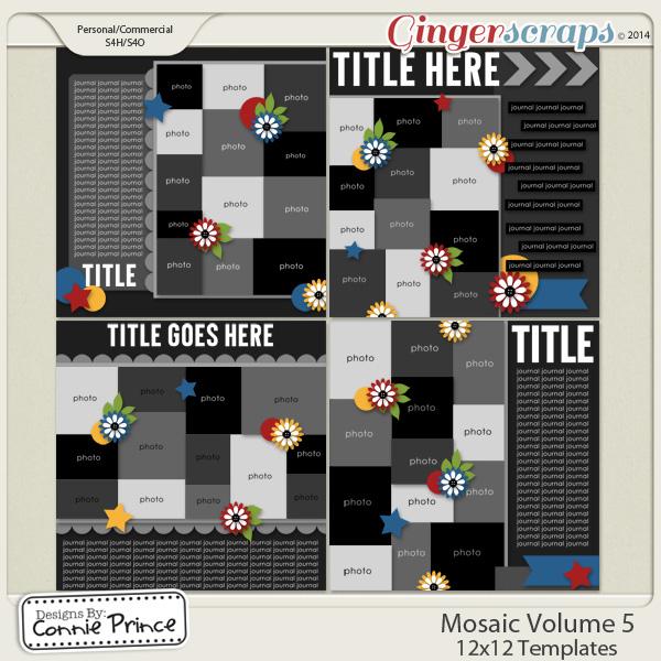 Mosaic Volume 5 - 12x12 Temps (CU Ok)
