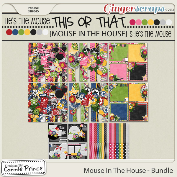 Mouse In The House - Bundle