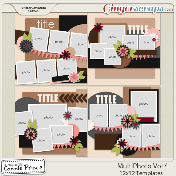 Retiring Soon - MultiPhoto Vol 4 - 12x12 Temps (CU Ok)