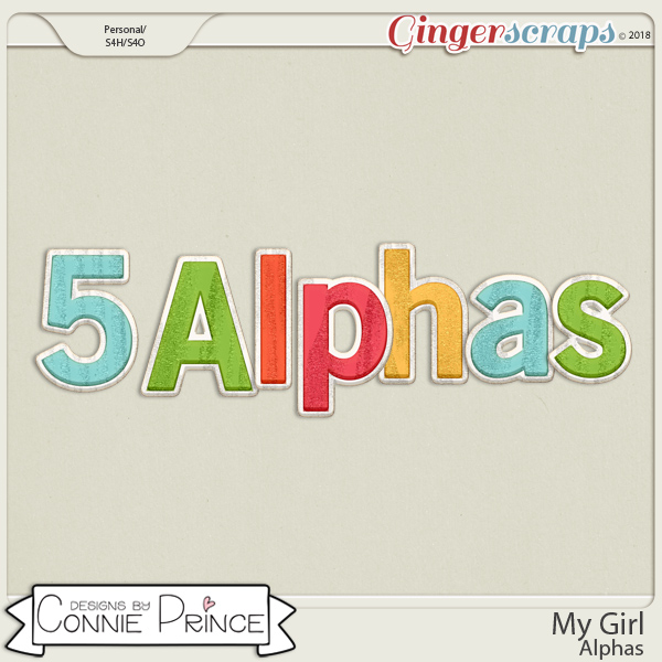 My Girl - Alpha Pack AddOn by Connie Prince