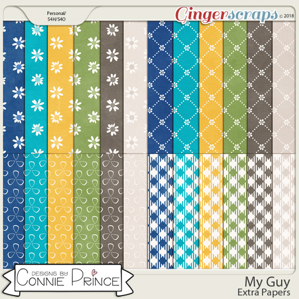 My Guy - Extra Papers by Connie Prince
