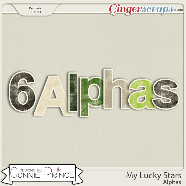 My Lucky Stars- Alpha Pack AddOn by Connie Prince