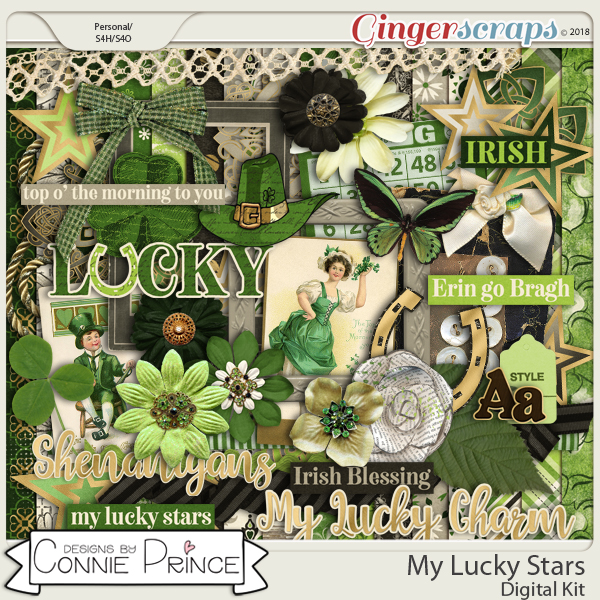 My Lucky Stars - Kit by Connie Prince