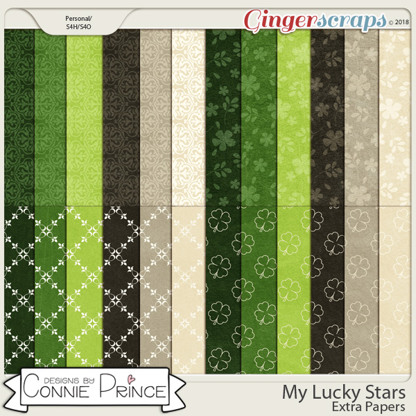 My Lucky Stars - Extra Papers by Connie Prince