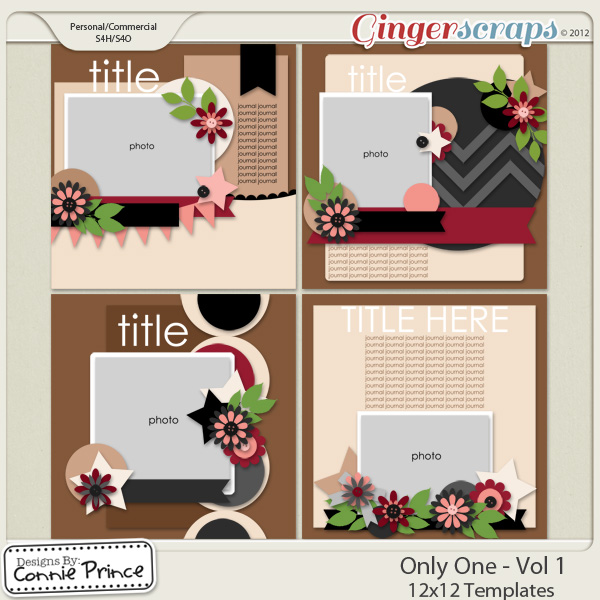 Only One Vol 1- 12x12 Temps (CU Ok)
