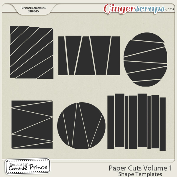 Paper Cuts Volume 1 - Shape Templates